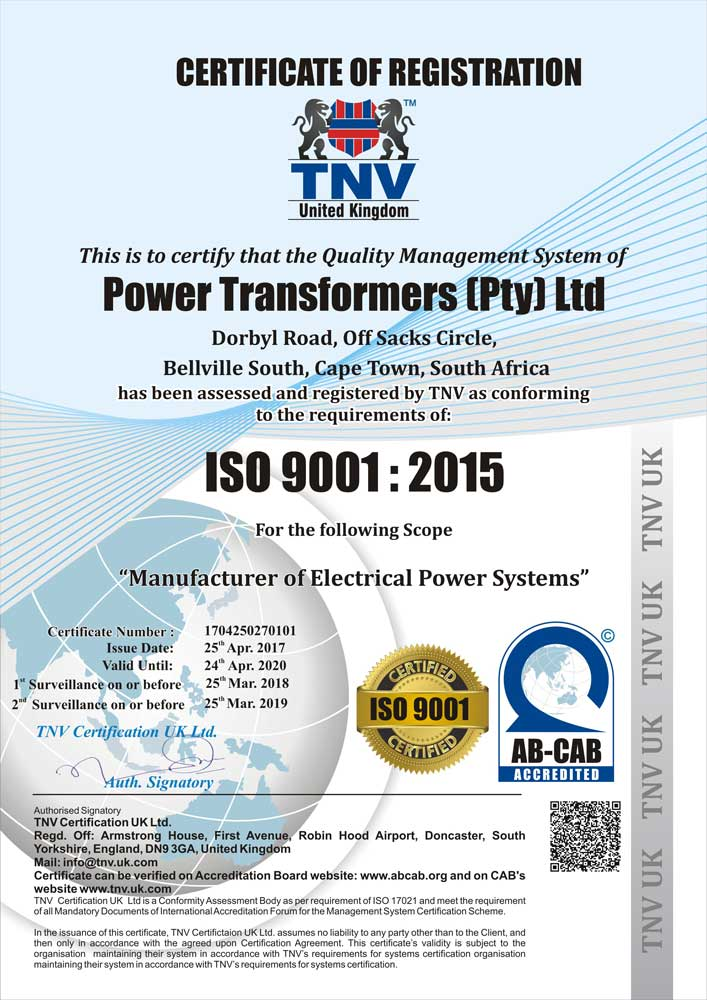Electrical Transformer Suppliers | Power Transformers